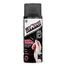 Wrapper Spray Vernice Removibile Oscurante Fanali Nero Fumè