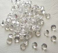 Wedding Diamond Scatter Table Confetti 4.5mm - 10mm, Acrylic Decorations
