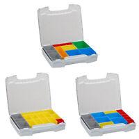 Sortimentskasten i-BOXX Bosch Sortimo mit Insetboxenset-Set | i BOXX 72 grau