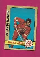 1972-73 OPC # 239 FLAMES RAY COMEAU ROOKIE HIGH # EX-MT CARD (INV#3330)