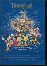 """DISNEYLAND RESORT""....""50 OFFICIAL CELEBRATION EDITION"".....""COMMEMORATIVE DVD"""