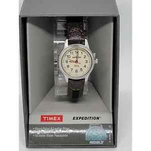 Timex Expedition Women's Leather Watch#7