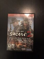 Total War Shogun 2 Fall of the Samurai PC Limited Edition Missing Disc 1.