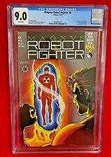 Magnus Robot Fighter #6 CGC 9.0 Valiant Comic Trading Cards Included SOLAR APP.