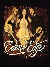 Eden's Edge Concert Tour 2012 Country Music Soft Black T Shirt L
