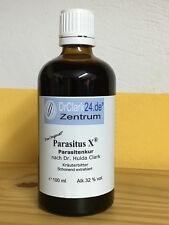 Parasitus X ® 100ml, das Original vom Hersteller,mit Schwarzwalnuss,Wermut,Nelke