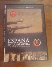 ESPAÑA EN LA MEMORIA DVD-1 LOS PRIMEROS MESES DE LA GUERRA CIVIL
