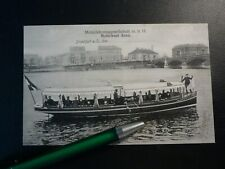 Frankfurt Oder * Motorboot ANNA * Motorfahrzeuggesellschaft m.b.H. Brandenburg
