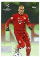 2015 Topps UEFA Champions League Showcase Green Parallel /99 #133 Franck Ribery