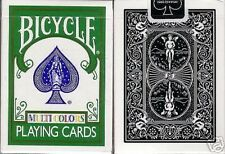 Bicycle Multi Colors Fragment X Playing Cards Deck New RARE Machiavelli