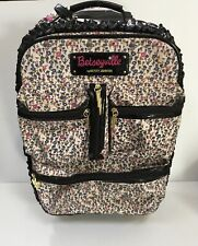 Betseyville by Betsey Johnson Floral Rolling Suitcase