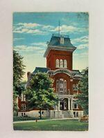 Iroquois County Court House Watseka Illinois Vintage Postcard 1944