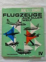 Flugzeuge aus aller Welt IV, transpress 1973, Typenbuch
