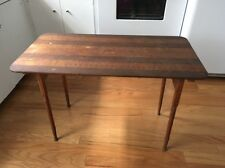 Vintage Antique Beautiful And Dainty Sewing Crafting Table Made Of Wood!