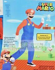 Halloween Costumes- Boys' Super Mario, Mario Deluxe Costume L (10-12)
