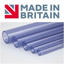 PVC Tube Clear Plastic Hose/Pipe - Food Grade - ALL SIZES PREMIUM QUALITY