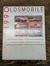 1990 Oldsmobile Service Manual Supplement Section 8A