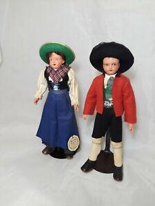 """Vintage international Dolls Sarntal 9"""" Tall"""