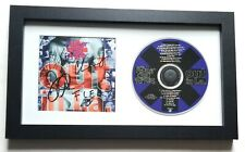 Red Hot Chili Peppers REAL hand SIGNED Out In L.A. CD Framed Display COA all 4