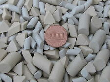Ceramic Tumbling Media Mixed 2 Lb Cylinder and Triangle Lapidary Non Abrasive