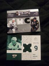 NHL STARS BRAD RICHARDS/MIKE MODANO WINNING COMBOS SP MIKE MODANO 26/225 RELIC