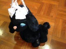 BABY THE STARS SHINE BRIGHT Lolita Black Furry Poodle Pochette Coin Pouch Purse