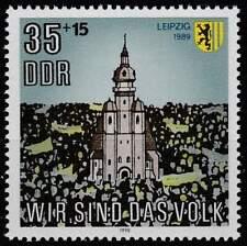 DDR postfris 1990 MNH 3315 - Nikolaas Kerk