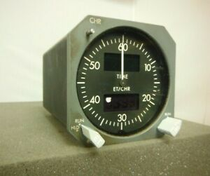 Boeing 737CL Smiths IndS., Digital Chronometer/Clock  As-Removed, P/N-2600-03-1
