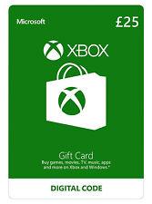 Microsoft Xbox Live Gift Card - 25 Pounds