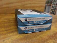 HP 113102 Office Ultra-White Paper, 3-Hole, 20lb, 8-1/2 x 11, 500 per pk, 2 PACK