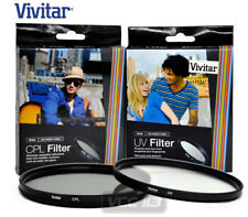 Vivitar 95mm CPL CIRCULAR POLARIZER  and UV FILTERS New Filter Pair 95 mm