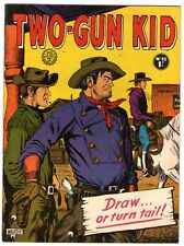 Two-Gun Kid   28   Classic Bad Guy Cover     AUSTRALIAN COPY