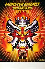 MONSTER MAGNET 2001 GOD SAYS NO UNUSED TOUR POSTER ORIGINAL