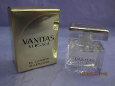 VANITAS VERSACE 0.15 FL oz / 4.5 ML Eau De Parfum Mini New In Box