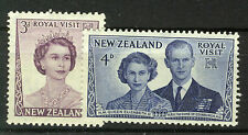 NEW ZEALAND 1953 ROYAL VISIT BLOCK OF 4 MNH