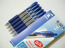 12pcs Pilot G-2 0.5mm extra fine Roller ball Pen Blue(Japan)