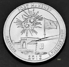 2013 P MINT Fort McHENRY, Maryland Uncirculated Clad America the Beautiful