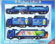 Würzburger Hofbräu-Nr. 28-  3er Truckset -Der Truck-Sammlerpack: 3 in 1 - 2003