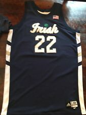 ****TEAM ISSUED / GAME WORN NOTRE DAME BASKETBALL JERSEY**
