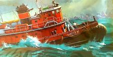 "Vintage (1979) REVELL Kit No. 5001, HARBOR TUG ""LUCKY XI"", scale 1/108,  NIB"