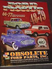 1948-79 Ford Pickup/1966-77 Bronco Catalog, Obsolete Ford Parts 1999