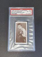 1938 Churchman #10 Arthur Danahar Boxing Personalities PSA 6 EX-MT