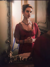 Lily James signed autographed 8x10 Photo Cinderella War and Peace