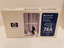 A08 Genuine HP 74A 92274A Toner Cartridge New Sealed