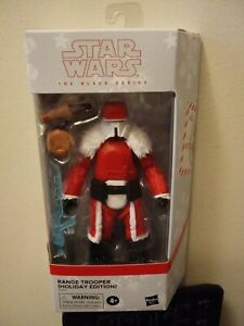 STAR WARS BLACK SERIES HOLIDAY EDITION RANGE TROOPER SEALED FREE SHIPPING!