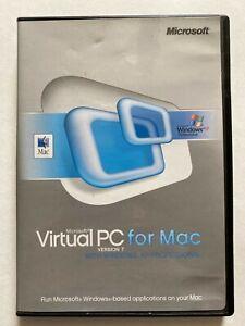 2004 Macintosh Virtual PC for Mac 7 XP Pro Software Install CD w Serial Key