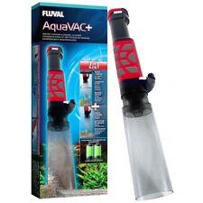 FLUVAL AquaVAC+ AQUARIUM GRAVEL CLEANER WATER TANK VAC FILTER SIPHON VACUUM