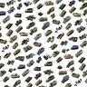 Rubicon Tanks und Militär Fahrzeuge Modell Bausätze in 1/56 Maßstab (55 Modelle)
