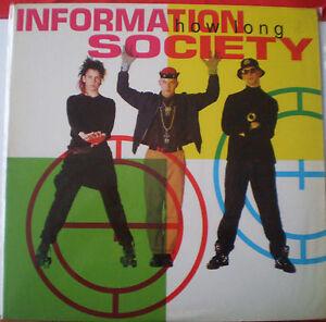 "INFORMATION SOCIETY - 12""- 4 TRACKS - ""HOW LONG"" - 1990 USA - TOMMY BOY"
