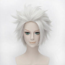 Ursula Rick Sanchez Layered Silber Hair Cosplay Kostüm Anime Kurz Perücke Wig